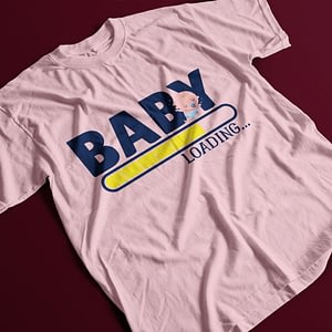 Family & Clan Baby Loading Pregnancy T-Shirt baby loading