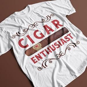 Misc Cigar Enthusiast Adult's T-Shirt cigar