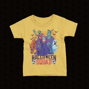 Halloween Kids Halloween Squad Kid's T-Shirt bats
