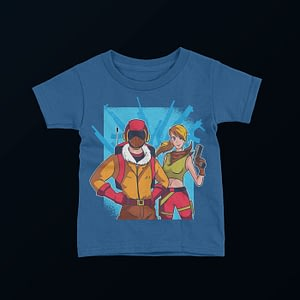 Gaming Video Game Character Kid's T-Shirt epic