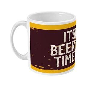 Food & Drink Mugs It's Beer Time Mug beer