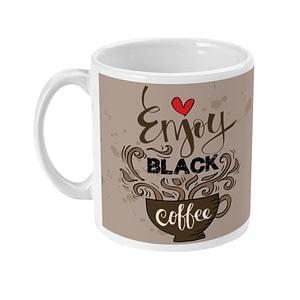 Food & Drink Mugs Enjoy Black Coffee Mug coffee