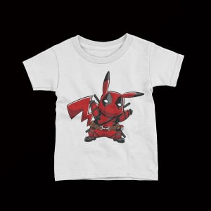 Gaming Pikapool Kid's T-Shirt deadpool