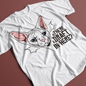 Animals & Nature Sphinx Cat Slogan Adult's T-Shirt cat