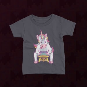 Gaming Unicorn Gamer Kid's T-Shirt gamer