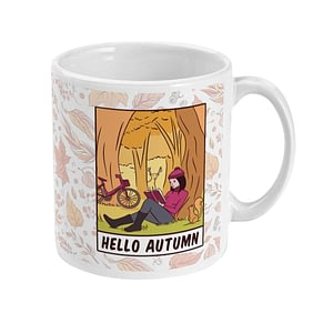 Misc Mugs Hello Autumn Mug autumn