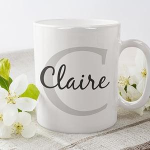 Personalised Personalised Initial & Name Mug custom