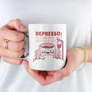 Food & Drink Mugs Depresso Mug caffeine