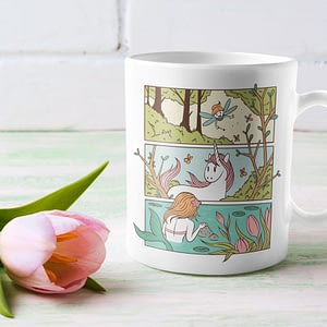 Misc Mugs Enchanted Forest Mug fairy