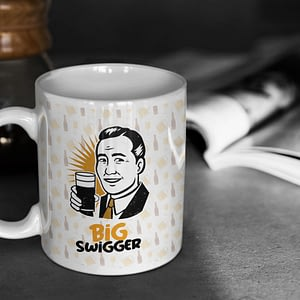 Food & Drink Mugs Big Swigger Mug beer