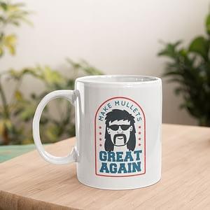 Family Mugs Make Mullets Great Again Mug 80s