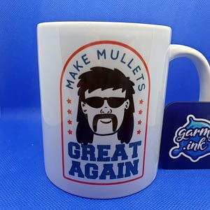 Family Mugs Make Mullets Great Again Mug 80s