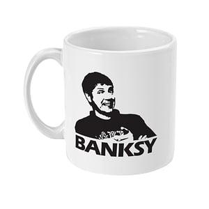 Funny Mugs Funny Banksy / Neil Buchanan Mug art attack