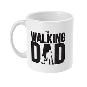 Family Mugs The Walking Dad Funny Mug dad