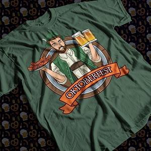 Food & Drink Oktoberfest Beer & Sausage T-Shirt beer