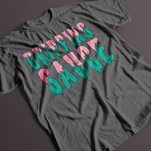 Misc Dripping Sauce Adult's T-Shirt dripping