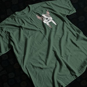 Animals & Nature French Bulldog in Your Pocket Adult's T-Shirt dog