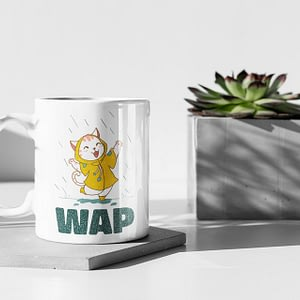 Funny Mugs Wet Ass Pussy – WAP Mug cardi b
