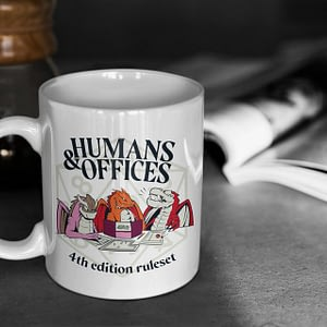 Funny Mugs Humans & Offices Dungeons and Dragons Mug dnd