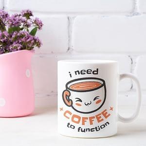 Food & Drink Mugs I Need Coffee to Function Mug caffeine