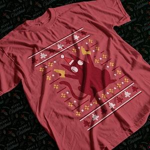 Christmas Pew Pew Madafakas Cat Christmas T-Shirt cat