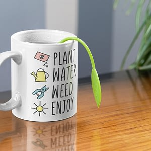Hobbies Mugs Plant, Water, Weed, Enjoy Gardening Mug gardening