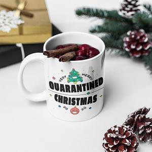 Christmas Mugs Very Merry Lockdown Christmas 2020 Mug christmas