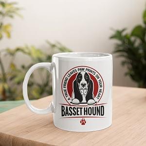 Animal Mugs Basset Hound Mug Basset Hound