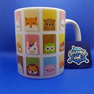 Animal Mugs Cute Kawaii Animal Mug animals