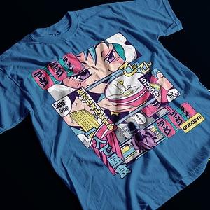 Adult T Shirts Anime Ramen Vaporwave T-Shirt anime