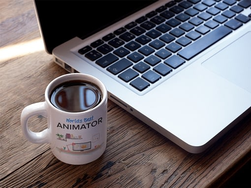 Personalised Personalised World's Best Animator Mug animator