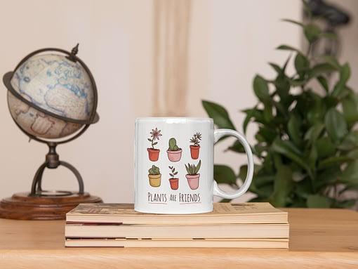 Hobbies Mugs Plants are Friends Mug house plants