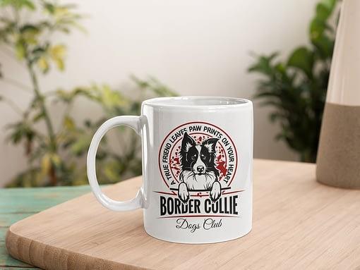 Animal Mugs Border Collie Mug Border Collie