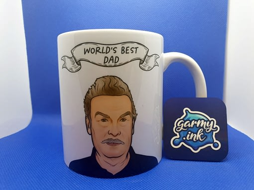 Family Mugs Josef Fritzl World's Best Dad Mug dad