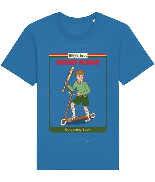 Car & Bike Personalised Road Rage Adult's T-Shirt anger